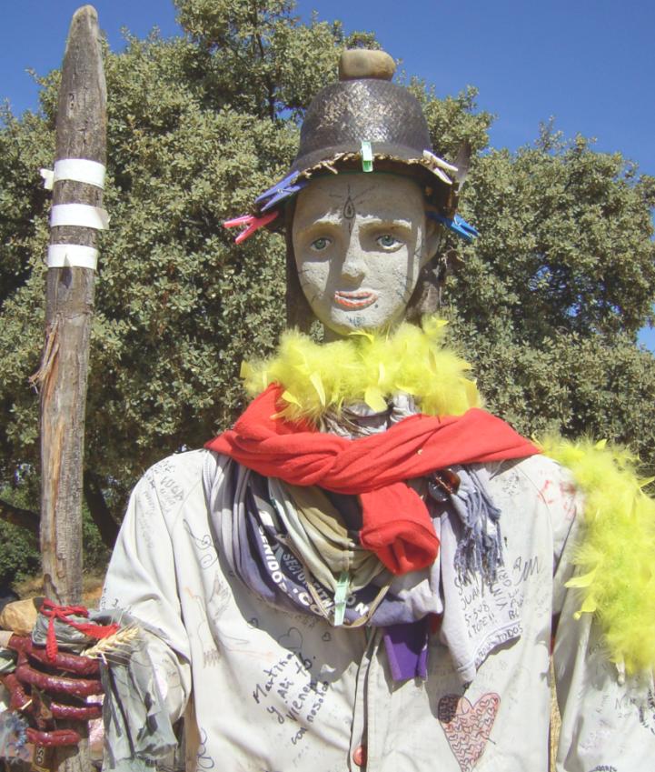 Pilgerdenkmal bei León